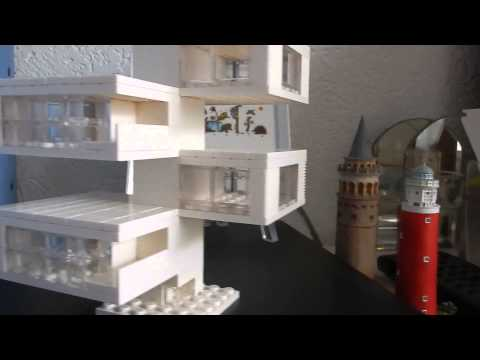 Lego architecture studio my first creation youtube for Studio v architecture