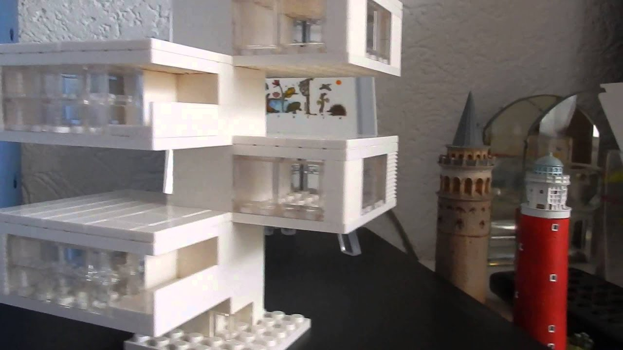 Lego Architecture Studio: My first creation - YouTube