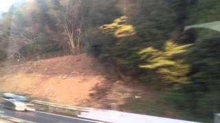 高速バス「桜島」号 車窓[2/2]高速帖佐→鹿児島空港南/ 西鉄 鹿中央1640発