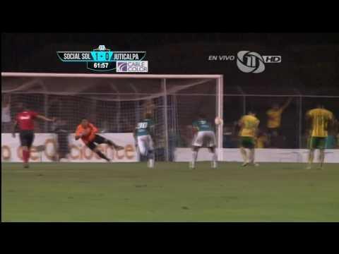 1-0 Gol de Social Sol vs Juticalpa (Cesar Garcia)