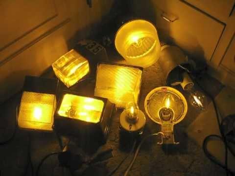 High Pressure Sodium (HPS) Lights Turning On 2011 - YouTube