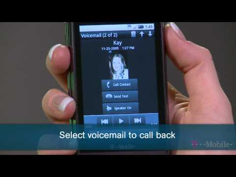 Returning A Call From A Visual Voicemail