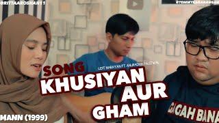 khusiyan aur gham - Amir Khan & Manish khoirila cover by Tommy Kaganangan ft Rita roshan