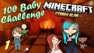 100 Baby Challenge (Minecraft Comes Alive) |1| - Let