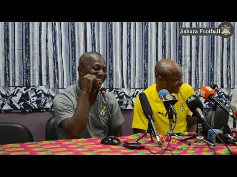 GHANA VS MAURITANIA- POST MATCH PRESS CONFERENCE: KWESI APPIAH SPEAKS ABOUT FINAL AFCON SQUAD