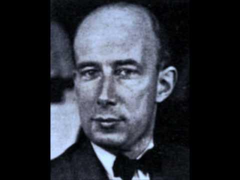 Georg Kulenkampff - Brahms Violin Sonata No 2, 1rst mvt