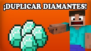 *TUTORIAL COMO DUPLICAR DIAMANTES Y OBJETOS*  Minecraft 1.13