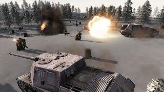 ЗИМНЯЯ БИТВА ПОД СТАЛИНГРАДОМ ! В Игре про Войну В Тылу Врага 2 Штурм