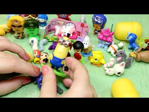 Look what I found Kinder Surprise Eggs Unboxing  ASMR Whisper