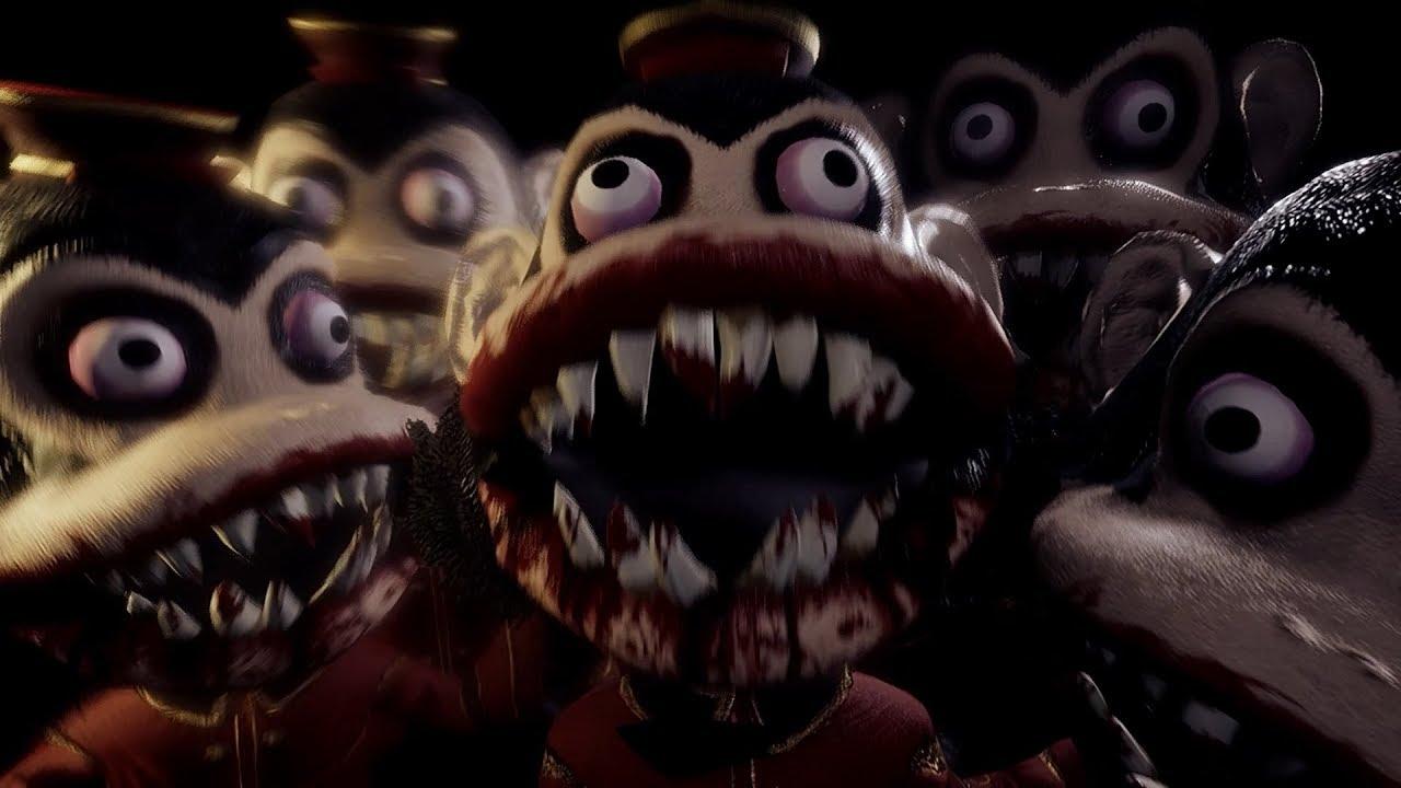 Dark Deception《黑暗詭計》試玩 - 免費恐怖遊戲~猴子猴孫好嚇人啊! - YouTube