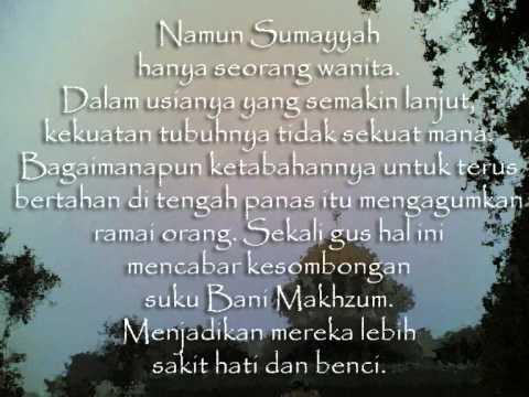 Sumayyah Secebis Kisah Wmv Youtube
