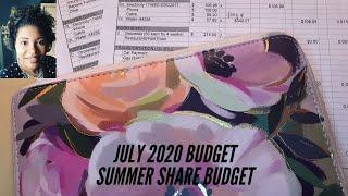 July Budget       Summer Share Account Deposit      Show Me the Money      Summer Budget #1
