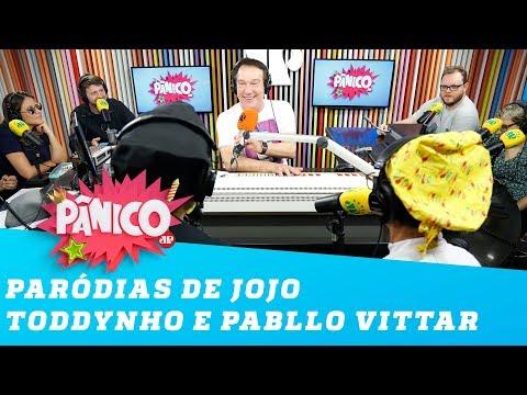 Luiz França e Rony Cacio cantam paródias de Jojo Toddynho e Pabllo Vittar