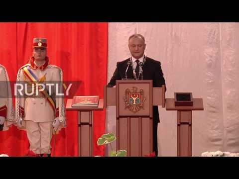 Moldova: Igor Dodon inaugurated as President of Moldova