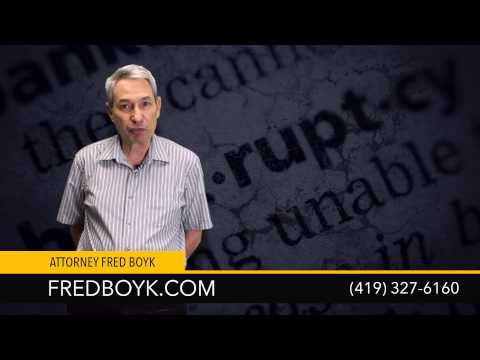Toledo Bankruptcy Attorney Fred Boyk Explains His Background