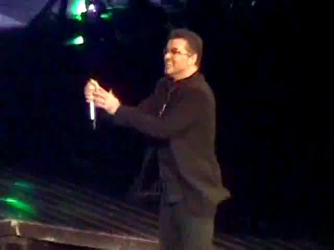 George Michael - Waiting/Fastlove/I'm Your Man. Madison Square Garden, NY. 21.07.2008