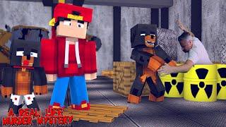 Minecraft - LITTLE LIZARD IS DEAD - A REAL LIFE MURDER MYSTERY