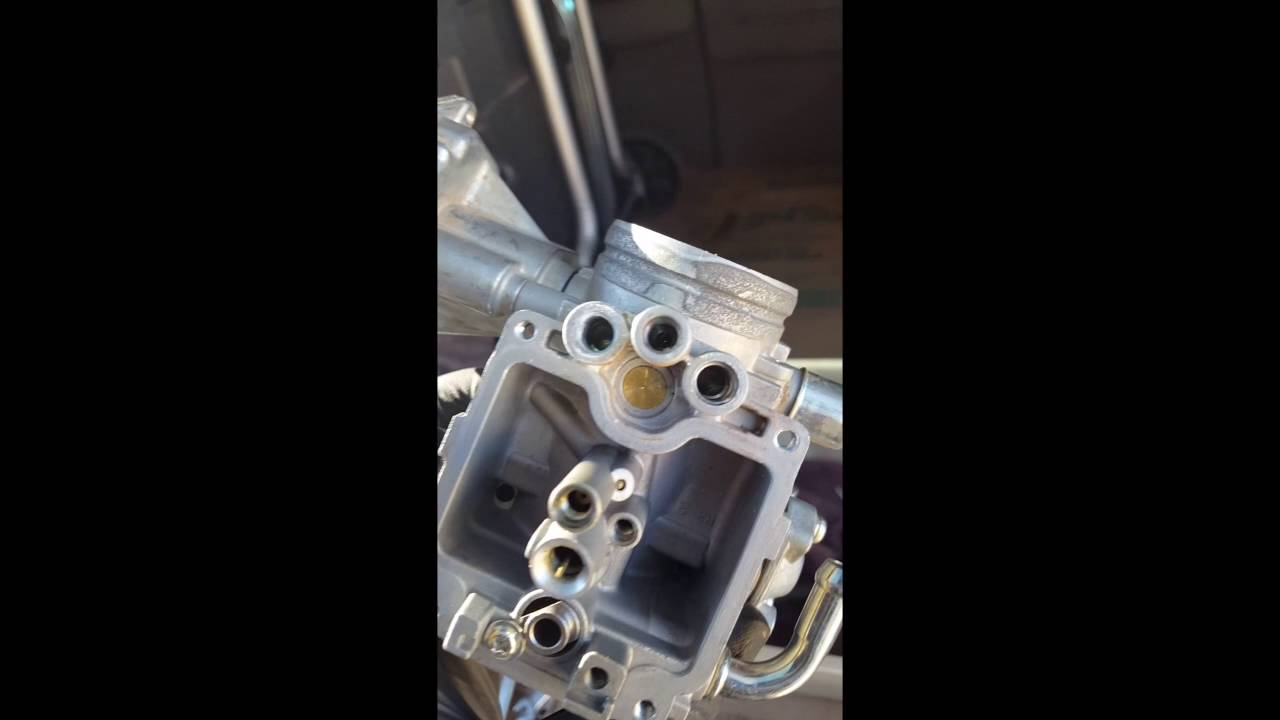 2007 Yamaha Rhino 660 Carburetor Cleaning Youtube 2006 Wiring Diagram