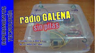 Radio que funciona SIN pilas ni corrient...