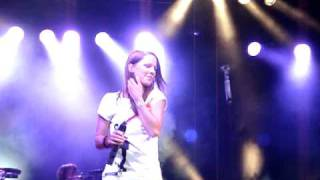 Christina Stürmer-unsere besten Tage-Knetzgau/Mainwiesen 28.8.2010
