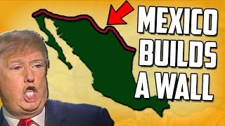 What If Mexico Built A Wall? Hearts of Iron 4 Modern Day Mod HOI4