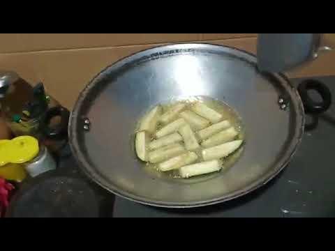 tutorial memasak ikan teri pake terong - YouTube
