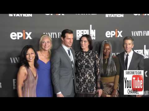 Berlin Station Cast at the Premiere Of EPIX's Berlin Station at Milk Studios in Hollywood