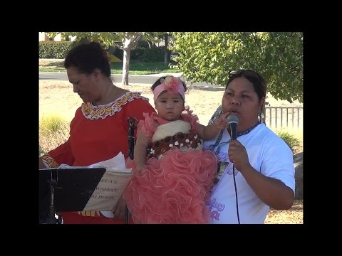 Tonga/USA trad. 1st Birthday Celebration of Veisinia Pasina