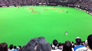 2011年4月17日 札幌ドームで行われたファイターズvsマリーンズ戦 6回裏...