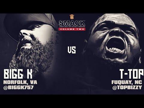 T-TOP VS BIGG K SMACK/ URL RAP BATTLE | URLTV
