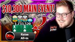 $10,300 MILLIONS ONLINE MAIN EVENT $20,000,000 GTD!!