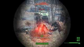 Fallout 4 Прохождение - Как убить Чудище.