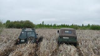 Такого никто не ожидал КАК они едут ГАЗ-69 и UNIMOG vs NISSAN Patrol Y61 и ЛуАЗа off road 4x4