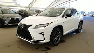 2019 RX 350 F sport series 3 | Lexus of Royal Oak