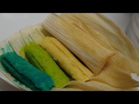 Receta de tamales canarios tamales ricos y rapidos de harina de arroz