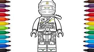 How to draw Lego Lloyd from Ninjago: Hunted - Season 9
