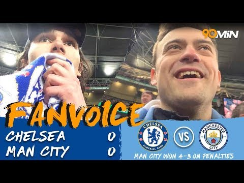 Man City win on penalties to retain the Carabao Cup | Chelsea 0-0 Man City (3-4 on pens) | FanVoice