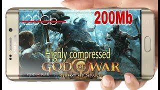Highly Compressed | God of war Ghost of Sparta | Android Game | 200Mb only | Proof with Gameplay