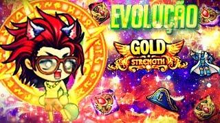 DDtank Pirata DDtank Gollum Evolução Top Arma avanço3 roupa gold chapeu gold