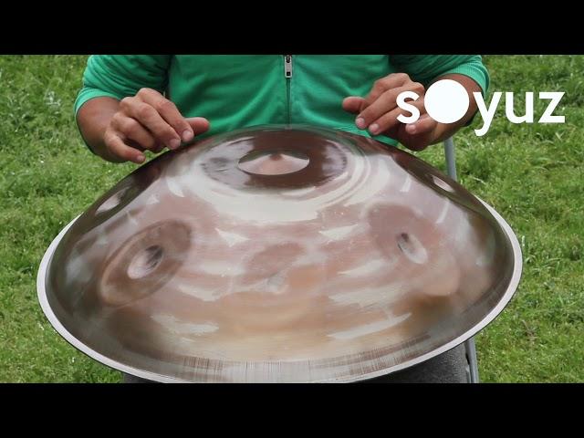 Soyuz handpan F Mystic