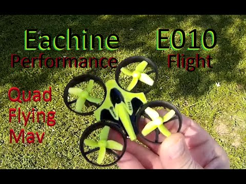 Eachine E010 Performance Flight - Nano-Micro Ducted Quadcopter