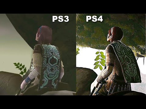 Shadow of the Colossus PS3 Vs PS4 Pro Graphics Comparison 4K