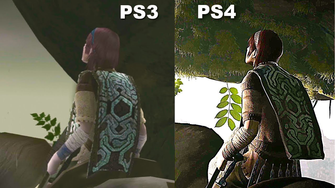 Shadow of the Colossus PS3 Vs PS4 Pro Graphics Comparison ...