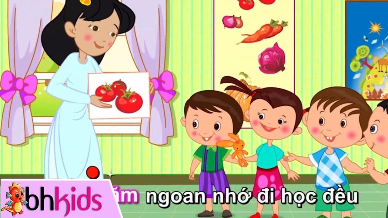 10 Bài Hát Vui Nhộn Cho Bé Vui Đến Trường ♫ Nhạc Cho Trẻ Mầm Non