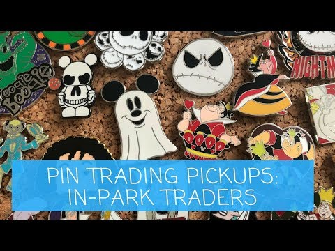 DISNEY PIN PICKUPS! Trading in the Parks! | WDW MARCH 2018
