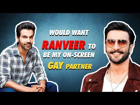 Rajkummar Rao Would Love Ranveer Singh To Play His Gay Partner| Ek Ladki Ko Dekha Toh Aisa Laga