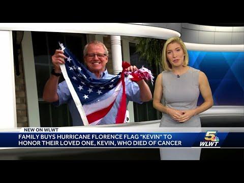 Cincinnati Family Buys Iconic U.S. Flag That Withstood Hurricane Florence