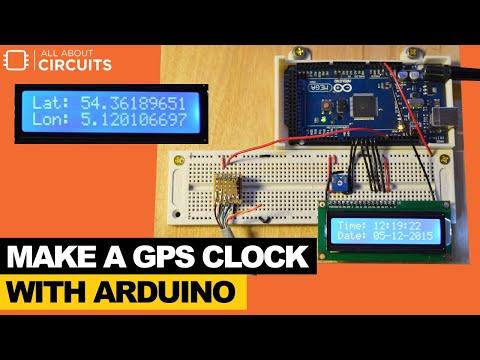 Make a GPS Clock With Arduino