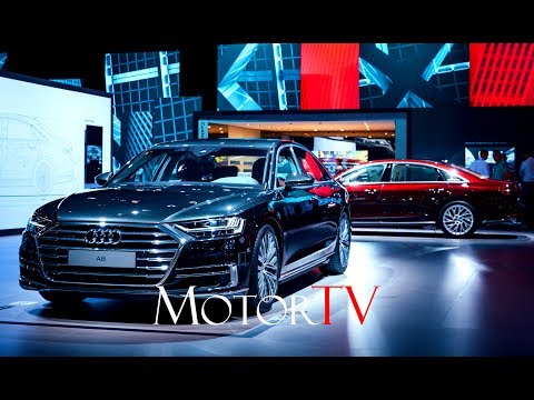 ALL NEW 2018 AUDI A8 WORLD PREMIERE l REVEAL l FULL HD PRESS CONFERENCE (ENG)