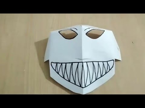 DIY PAPER MASK | Artistic Crafters | How To Make A Paper Mask